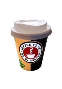 コーヒーを入れる紙コップ