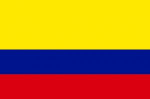 コロンビアの国旗