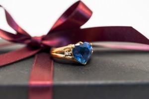 プレゼントと指輪