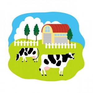 牧場のイラスト