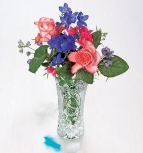 曽我ガラスの花瓶