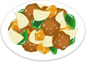 酢豚 パイナップル 効果